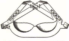 illustration of bra from Marie Tucek