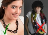 How to choose the right necklace for your figure.