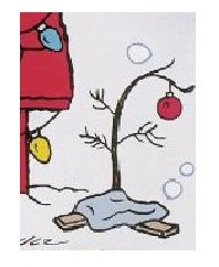 charlie brown's christmas tree